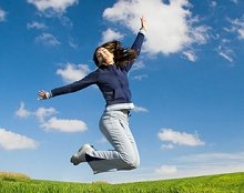 How Traditional Chinese medicine works?. Library Image: Jump for Joy